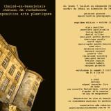 Evelyne Rogniat – Exposition arts plastiques – Château de Theizé-en-Beaujolais (69) – du 7 juillet au 21 août 2016