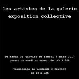 Galerie Jean Louis Mandon – 3, rue Vaubecour Lyon 2 – Evelyne Rogniat – Du 31 janvier au 4 mars 2017
